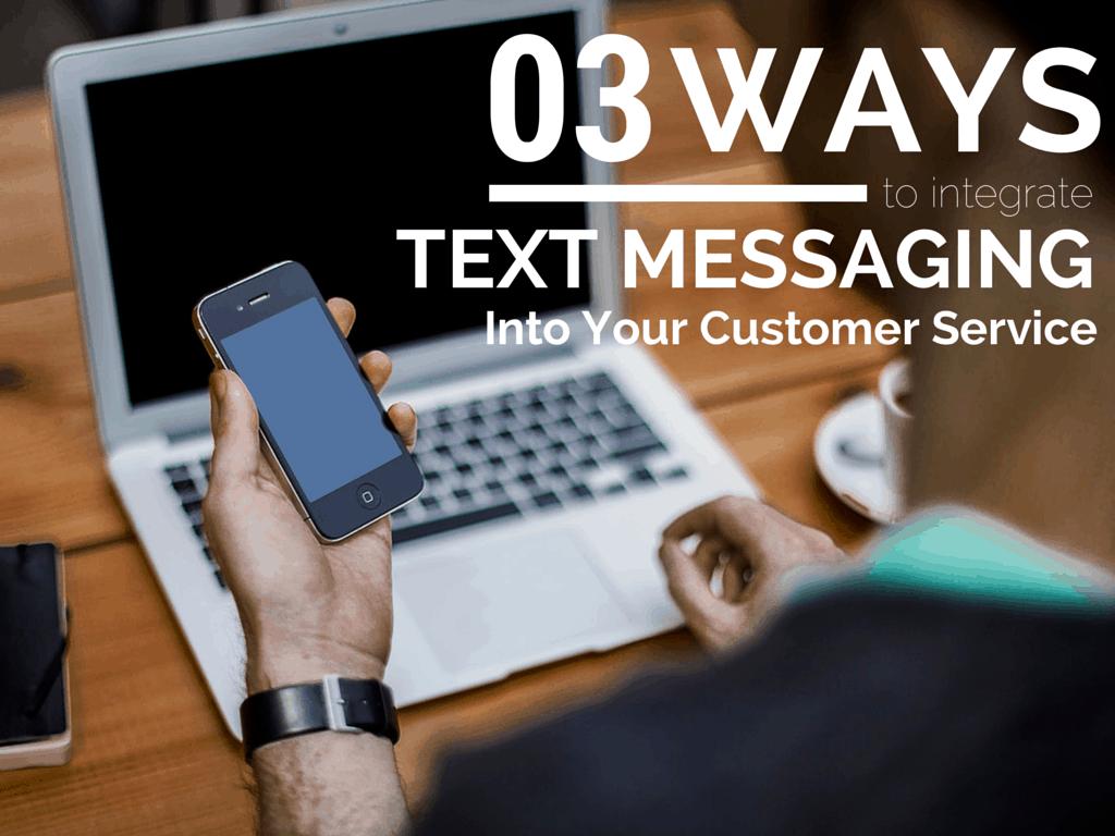 callproof text messaging customer service