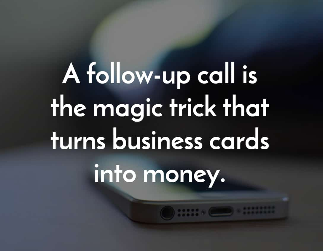 Callproof Turn Business Cards to Money