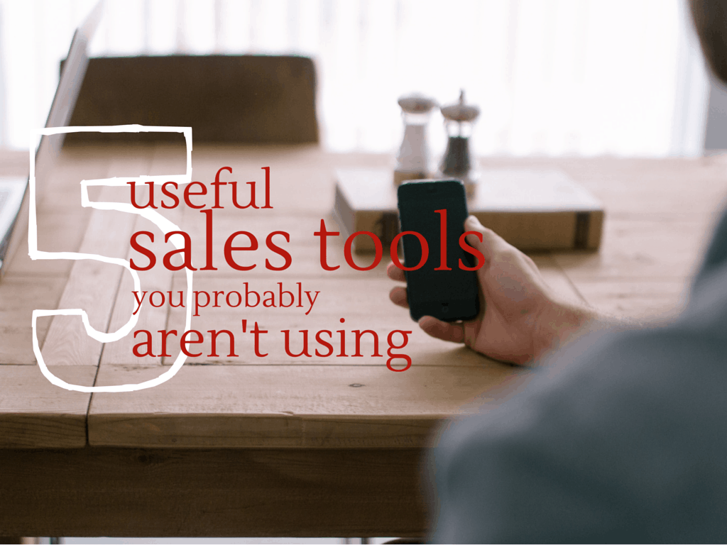 Callproof 5 sales tools