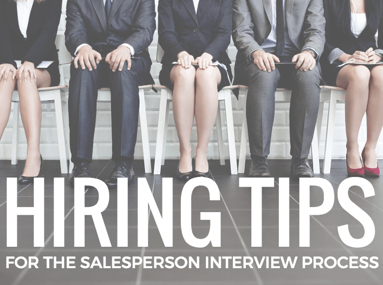 callproof hiring tips salesperson interview