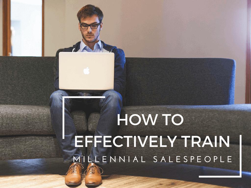 Train Millennial Salespeople
