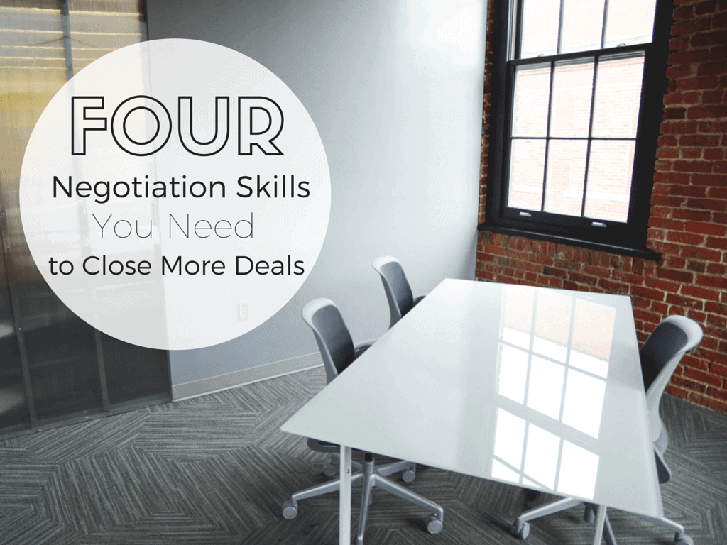 negotiation skills close more deals