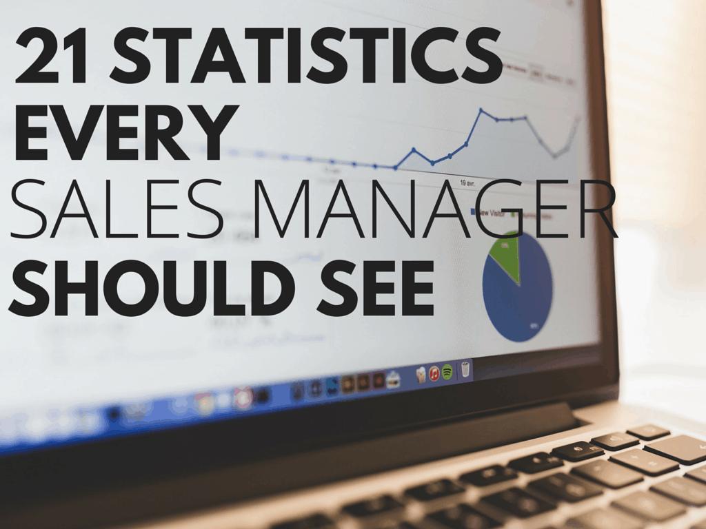 21 Sales Statistics