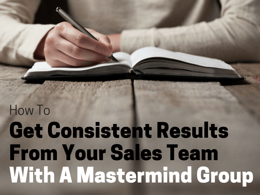 sales mastermind group