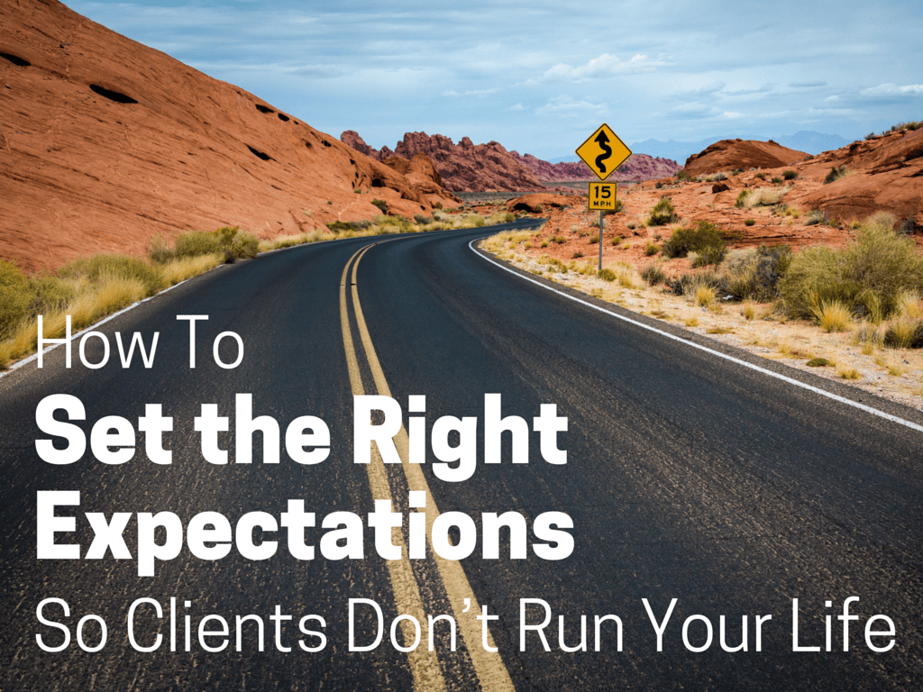 setting client expectations sales
