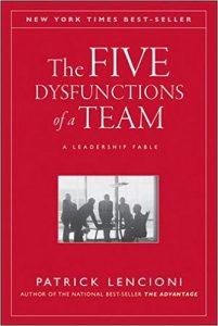 five dysfunctions team patrick lencioni